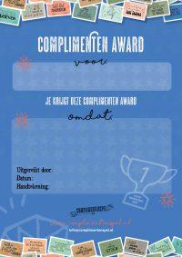 Complimenten Award