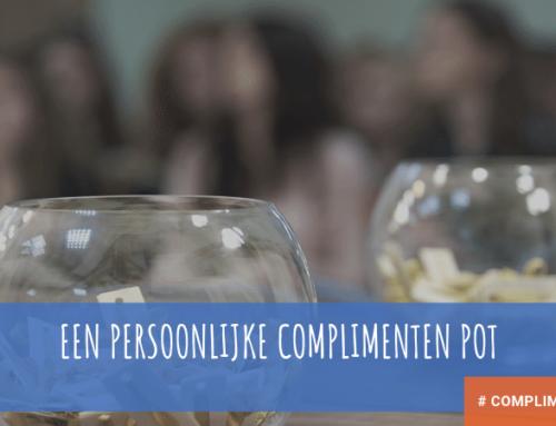 Een persoonlijke complimenten pot