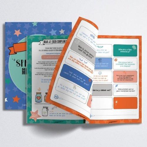 """Complimenten toolkit Productfoto """"Sprankelen met het gezin"""" werkbladen"""